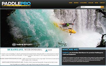PaddlePro Homepage